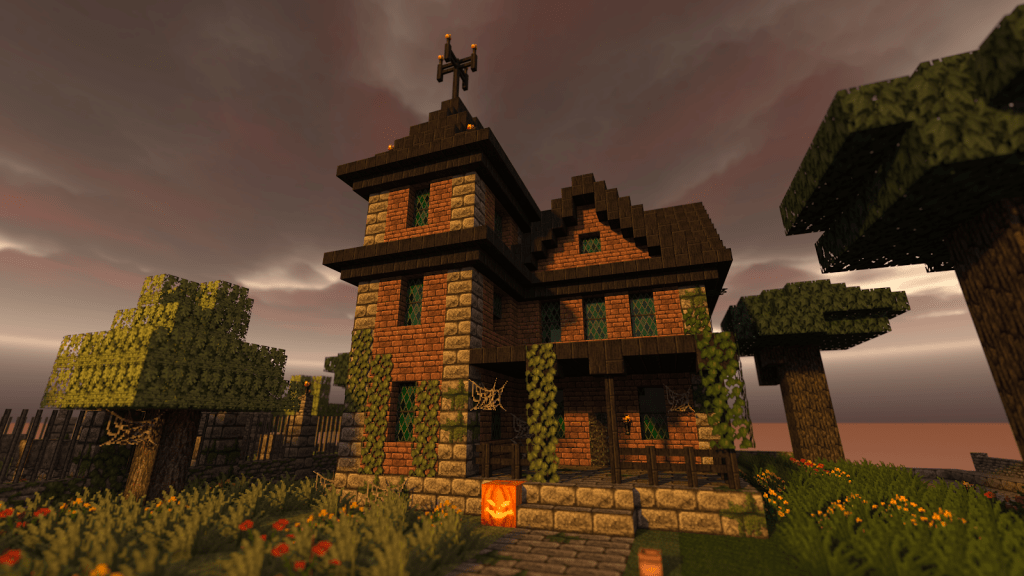 Spooky Minecraft Mansion