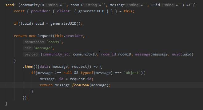 New send code