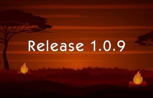 Alpha Release 1.0.9