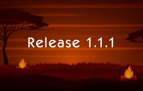 Alpha Release 1.1.1